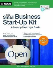 The Small Business Start-Up Kit: A Step-by-Step Legal Guide-ExLibrary