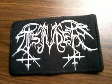 TSJUDER,SEW ON WHITE EMBROIDERED PATCH