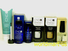 CND Shellac Gel UV/LED Starter Kit: Base 0.25oz /Top 0.25oz /Primer 0.5oz /NailF