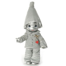 """The Wizard of OZ Precious Moments 7"""" Tin Man Heart of Silver Doll by Linda Rick"""