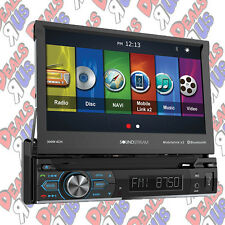 "Soundstream VRN-74HB DVD/CD/MP3 Player 7"" Touchscreen GPS Navigation Bluetooth"