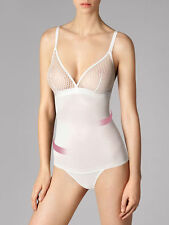 WOLFORD NETSATION STRING FORMING CONTROL BODY WHITE - NEW SIZE  MED 38C RRP £115