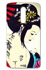 CUSTODIA COVER CASE GEISHA TATUAGGIO JAPAN PER LG G3 D855