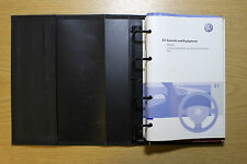 VW PASSAT BLUEMOTION R36 B6 2005-2010 OWNERS MANUAL HANDBOOK WALLET PACK 7378 !