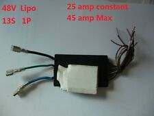 48V 25-45 amp 13S 1P Lipo  electric bike Lithium Battery BMS