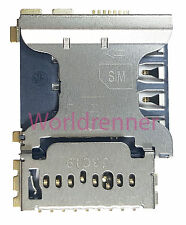 SIM Lector Tarjeta Conector Card Reader Connector Slot Samsung Galaxy Core