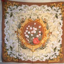 DIOR Christian Tuch carre foulard scarf shawl Seide silk soie MAIGLÖCKCHEN RAR