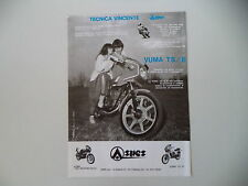 advertising Pubblicità 1981 MOTO ASPES YUMA JUMA 125 TS/B