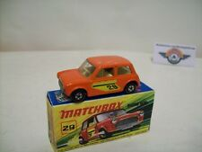 Matchbox Superfast 29, Mini Racing #29, 1972