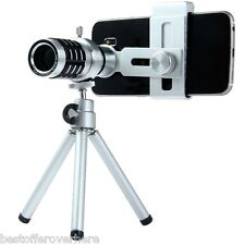 LIEQI LQ-015 Zoom 12X Clip-on Long Focus Telescope Lens Monocular for SMARTPhone