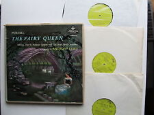 Purcell the Fairy Queen 3* Lp Box Set Anthony Lewis L'Oiseau-Lyre OL 50139-40-41