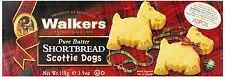 Walkers SHORTBREAD ~ Scottie Dogs ~ MADE IN SCOTLAND