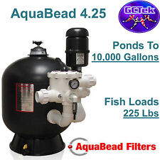 GC Tek AquaBead 4.25 Bead Filter AB4.2 for Ponds To 10,000 Gallons 225 Fish Load