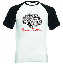 MALUCH POLISH FIAT 126 P RACING 1P - NEW COTTON TSHIRT - ALL SIZES IN STOCK