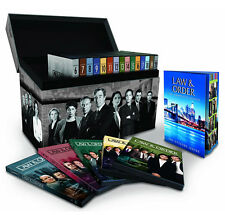 Law & Order Brand New Complete Series Seasons 1 through 20 DVD Box Set In Stock