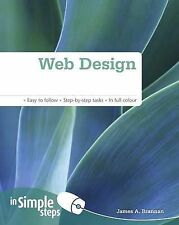 Web Design in Simple Steps, Brannan, Mr James A, New Book