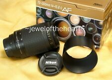 Mint Nikon Nikkor 70-300mm G Zoom Lens for D50 D70 D80 D90 D200 D300 D300s D700