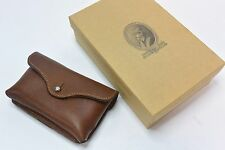 Col Littleton No.48 Brown Leather Pouch Case (Fits iPhone 4/4s)