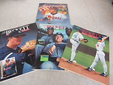 Beckett Baseball Magazine #99, #101 & #128; Legends #1 Lot of 4 ~ Jim Abbott