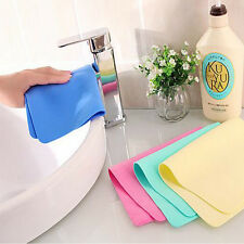 Magic Car Washing Wipe Towel Cloth Absorber Synthetic Chamois Leather Sale