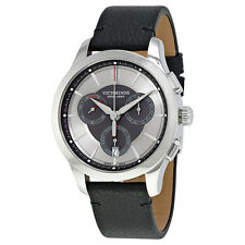 Victorinox Alliance Chronograph Silver Dial Mens Watch 241748