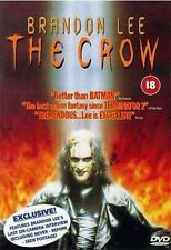 THE CROW Alex Proyas*Brandon Lee 90s Cult Classic Gothic Action Horror DVD *EXC*