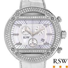 RAMA SWISS WATCH Gentlemens Chronograph.Genuine Clean Diamonds Retails $8,390