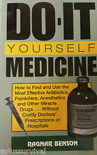 Do-It-Yourself Medicine - Emergency Survival Preppers First Aid Guide Book Kit