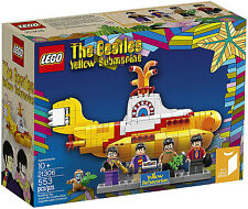 Lego Ideas - 21306 The Beatles Yellow Submarine - 553 Pieces - Factory Sealed