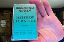 Matthew Darnell- Orchestra Thrash- 1991- new/sealed cassette tape- rare?