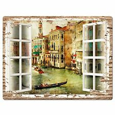 PP0598 French Window Scenery Chic Sign Shop Store Cafe Home Room Kitchen Decor