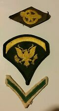 3 VINTAGE MILITARY  PATCHES AIRFORCE? Maybe