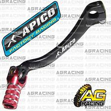 Apico Black Red Gear Pedal Lever Shifter For Honda CRF 450R 2004 Motocross MX