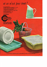 PUBLICITE ADVERTISING    1957   GROSFILLEX    plastiques