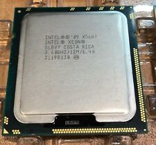 INTEL XEON X5687 3.60GHz 12M QUAD CORE SLBVY CPU / PROCESSOR- 16 AVAILABLE