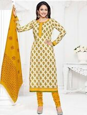 Elegant Cotton Designer Printed Unstitched Dress Material Salwar Suit .No PR322
