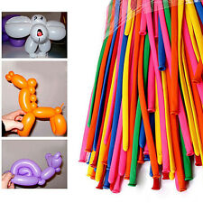 200PCS Magic Long Animal Tying Making Balloons Twist Latex Balloon Mixed Colors