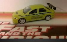 Fast 2 Furious Mitsubishi Lancer Evo VII 1/64 scale Paul Walker Original 02 Rare
