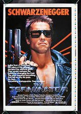 THE TERMINATOR * CineMasterpieces HALF SUBWAY PRINTERS PROOF MOVIE POSTER 1984