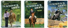 LEARN HORSEBACK RIDING  Step by Step Lessons  3 DVD Set  Brand New