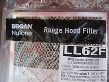 Broan Nutone Replacement Range Hood Filter LL62F   NEW