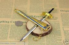 21cm Anime Fate/stay night Toy Excalibur Sword Alloy Model Pendant Keychain Gift