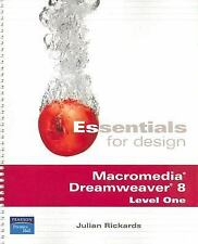 Essentials for Design Macromedia Dreamweaver 8 Level One (2nd Edition) Rickards