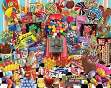 "CANDY FOR ALL SEASONS 1000 piece jigsaw puzzle-made in USA, 24"" x 30"""
