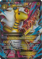 Mega M Ampharos EX - 88/98 - Full Art -(x1)- XY Ancient Origins - NM-Mint!!!