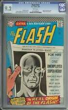 FLASH #167 CGC 9.2 WHITE PAGES