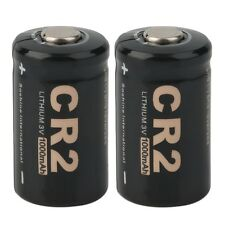 2 Pieces CR2 3.0V 1000mAh Protected Rechargeable Battery + Case for Soshine F7