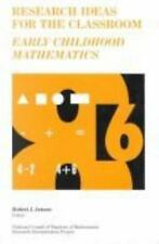 Research Ideas for the Classroom: Early Childhood Mathematics (Researc-ExLibrary
