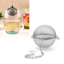 Stainless Steel Tea Infuser Spice Ball Strainer Mesh Tea Filter For Tea Pot