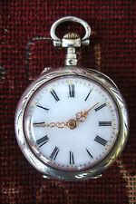 ancienne montre à gousset femme en argent massif poinçons crabe